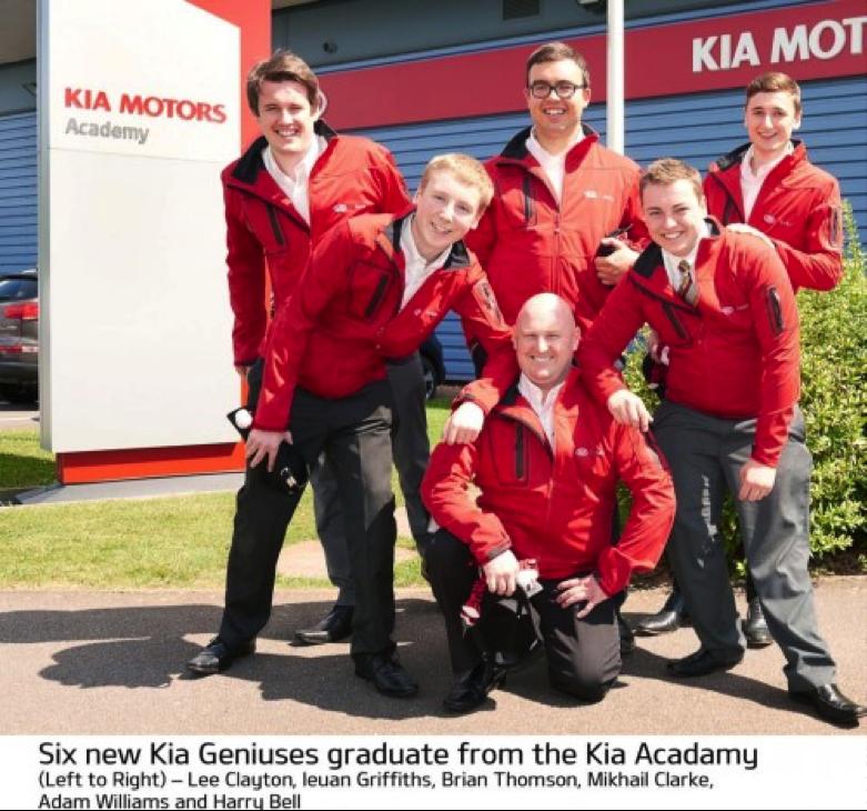 Genius guys at Kia Academy