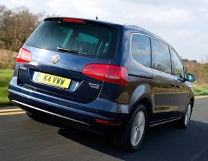 Bigger VW Sharan than ever enables it to compete with more rivals