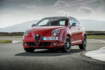 Alfa Romeo front static MY14