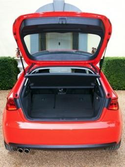 Audi A3 back open