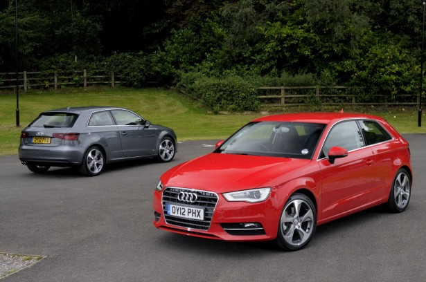 Audi A3 duo red