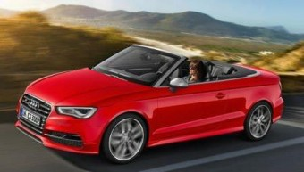 Audi S3 Cabrio side action