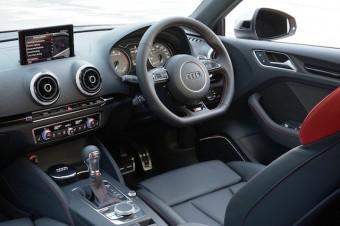 Audi S3 Saloon front interior
