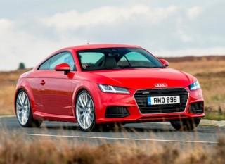 Audi TT front side action 2