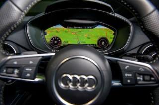 Audi TT virtual cockpit instrument panel2