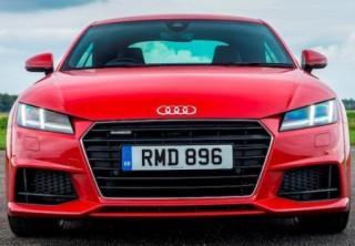 Audi TTs 2015 face resembles R8