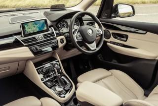 BMW 2 Active Tourer front interior