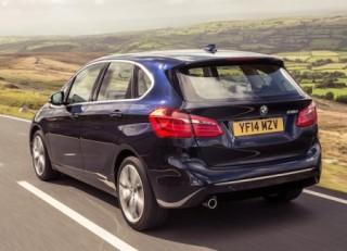 BMW 2 Active Tourer side rear
