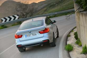 BMW 3GT rear action