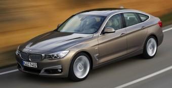 BMW 3GT side action