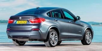 BMW X4 side rear
