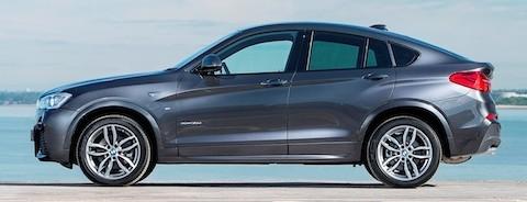 BMW X4 side
