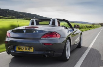 BMW Z4 rear action