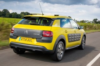Citroen C4 Cactus action rear