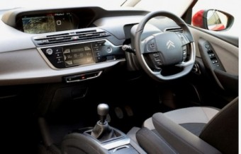 Citroen Grand C4 Picasso front interior
