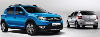 Dacia Sandero Stepway and hatch