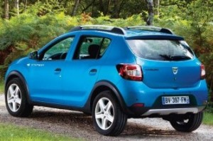 Dacia Sandero Stepway rear static small
