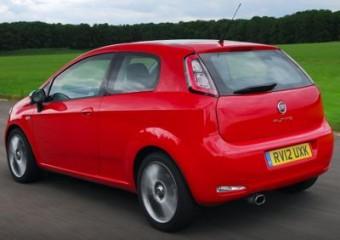 Fiat Punto MY12 rear