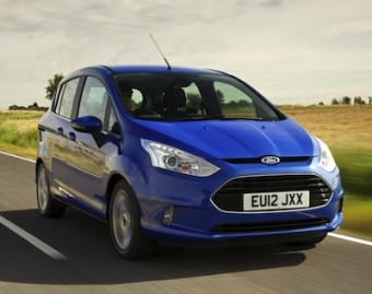 Ford B MAX front action
