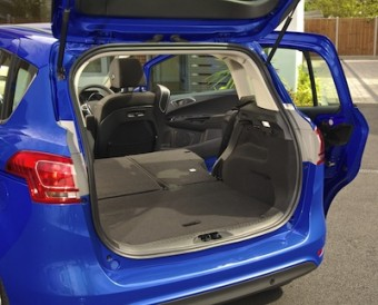 Ford B MAX rear load area