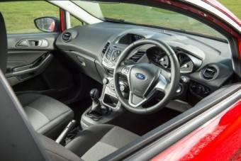 Ford Fiesta Van driver fascia