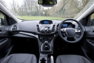 Ford Kuga inside front