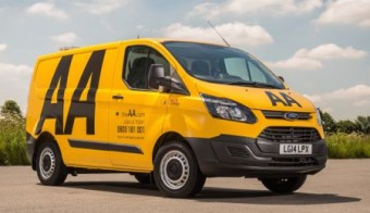 Ford Transit Custom AA front