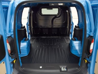 Ford Transit new Courier Van Kombi interior