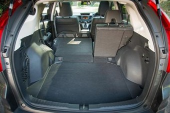 Honda CRV loadbed