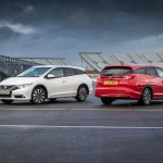 Honda Civic Tourer rises to challenge with space to spare