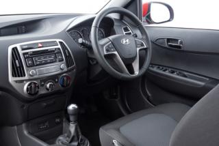 Hyundai i20 driver fascia