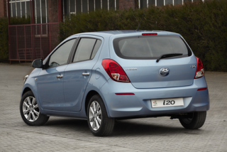 Hyundai i20 rear static