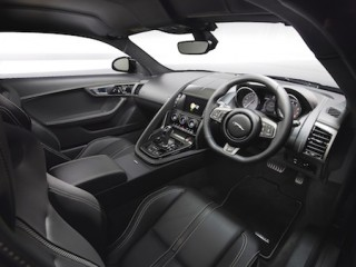 Jaguar 2016 F Type R AWD Coupe front interior