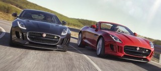 Jaguar F Type Coupe and Convertible latest models
