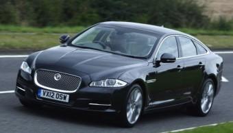 Jaguar XJ front action