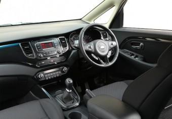 Kia Carens driver seat