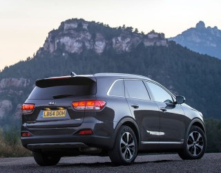 Kia Sorento KX2 rear static