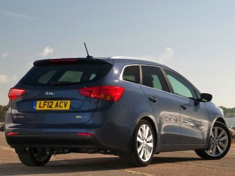 Kia ceed Sportswagon rear static