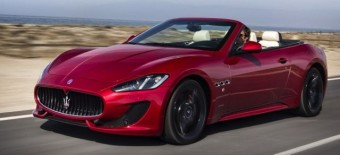 Maserati GCS front side action lhd