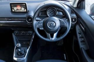 Mazda2 front interior