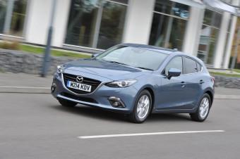 Mazda3 front action uk