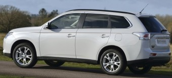 Mitsubishi Outlander side static