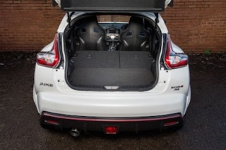 Nissan Juke Nismo RS rear boot