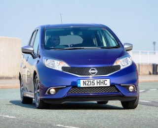 Nissan Note n tec front action