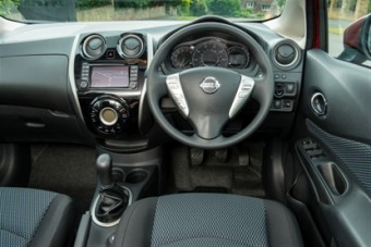 Nissan Note new dash
