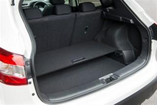 Nissan Qashqai open boot