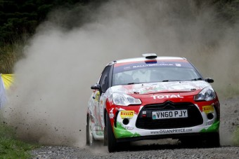 Osian Pryce / Dale Furniss Citroen DS3 R3T