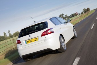 PEUGEOT 308 Feline rear action MY14