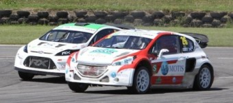 Pembrey RallyX Supercars med