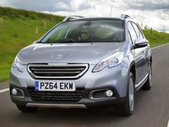Peugeot 2008 front action